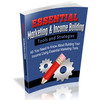 Thumbnail The Essential Marketing And Income Building eBook with MRR