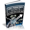 Thumbnail The Easy Productivity Secrets eBook with MRR