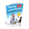 Thumbnail Thinking Big And Getting Rich - eBook with MRR