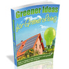 Greener Ideas For A Greener Living - eBook with MRR
