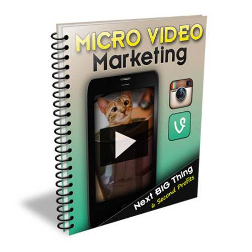 Product picture The Micro Video Marketing eBook and Video Tutorial