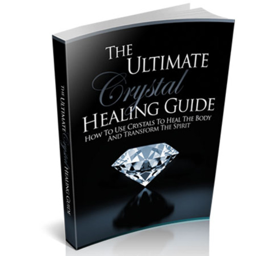 Product picture The Ultimate Crystal Healing Guide with MRR