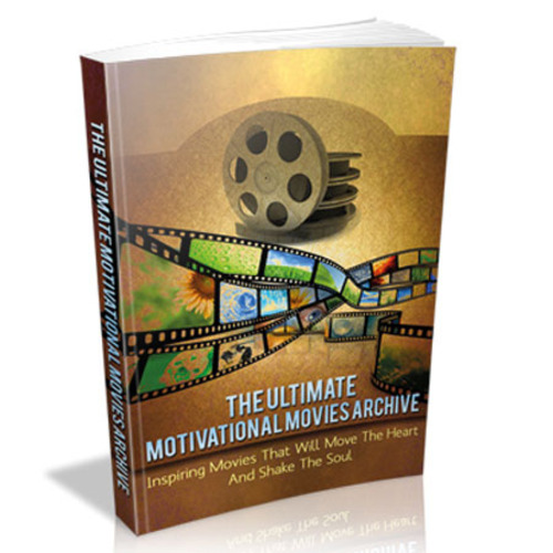 Product picture The Ultimate Motivational Movie Archive with MRR