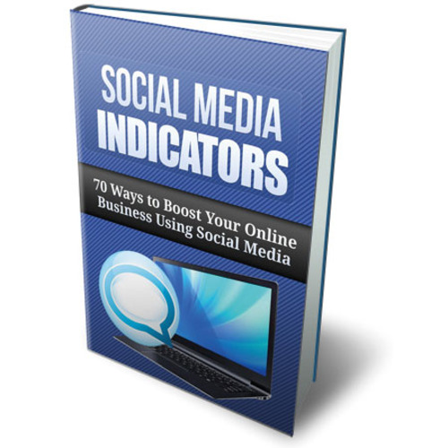 Product picture Discover the Social Media Indicators - eBook with MRR