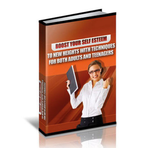 Product picture Boost Your Self Esteem To New Heights - eBook with MRR