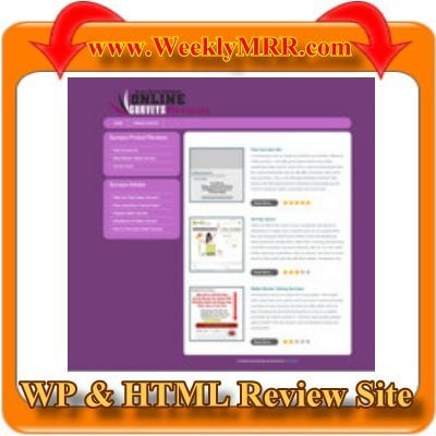 Product picture Online Surveys Review Site WP and HTML Review Theme